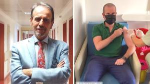 """Mehmet Ceyhan'dan """"Oğlu aşı olmadı"""" iddialarına fotoğraflı yanıt"""