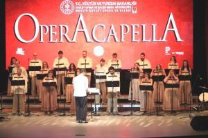 """Mersin Devlet Opera ve Balesi """"Operacapella"""" konseriyle sanatseverlerle buluştu"""