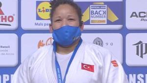 Milli judocumuz Kayra Sayit, Tokyo Olimpiyatları'nda bronz madalya maçına çıkmaya hak kazandı