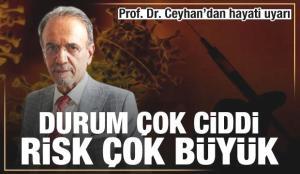 Prof. Dr. Mehmet Ceyhan'dan aşılama için hayati uyarı