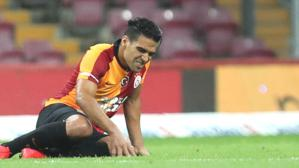 PSV maçının hazırlıklarını sürdüren Galatasaray'da Falcao sakatlığı sebebiyle antrenmana katılmadı