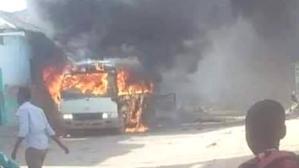 Somali'de futbol takımının otobüsüne bombalı saldırı: 4 ölü, 10 yaralı