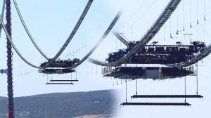 Son dakika… 1915 Çanakkale Köprüsü'nde ilk mega tabliye blok montajı yapıldı