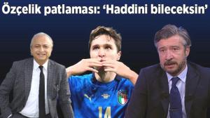 """Son dakika – EURO 2020'de Levent Özçelik patlaması! Olay oldu: """"Haddini bileceksin"""""""