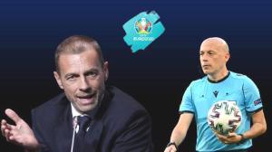 Son dakika haberi – EURO 2020'de olay iddia! Cüneyt Çakır ve UEFA Başkanı Ceferin…