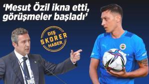 Son dakika haberi: Fenerbahçe transfer için görüşmelere başladı! Mesut Özil telefonla arayıp ikna etti