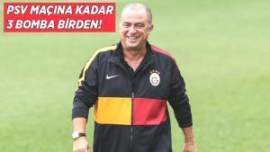 Son dakika haberi – Galatasaray'dan 3 transfer birden! PSV Eindhoven maçına yetişiyor