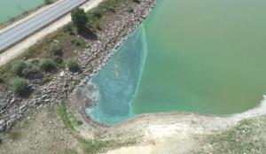 Son dakika haberi: Yeşile dönen Sazlıdere Barajı, su içilemeyecek duruma geldi