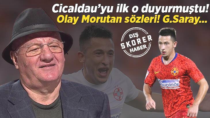 Transfer haberi: Galatasaray'ın Cicaldau transferini duyuran Dimitru Dragomir'den son dakika Morutan açıklaması!