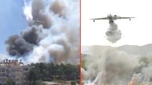 Yangın felaketleriyle sarsılan Türkiye'ye en büyük destek Rusya'dan! 3 uçakla söndürme çalışmalarına katıldılar