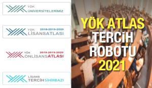 YÖK Atlas tercih robotu! 2021 Üniversite taban puanı, kontenjanı ve başarı sıralaması görüntüleme!