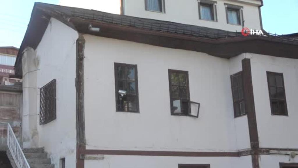 200 yıldır ayakta duran tescilli yapı 'Ali Şeker Evi' zamana meydan okuyor