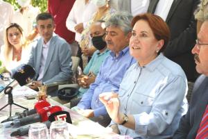 Akşener'den Erdoğan'a Göçmen Tepkisi: 'Egemenliği Neden Paylaşıyorsun?