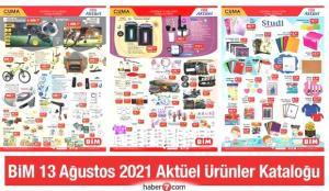 BİM 13 Ağustos Aktüel Kataloğu! Züccaciye, elektronik, kırtasiye ve elektrikli ürünlerde…