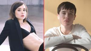 Cinsiyet değiştiren ünlü oyuncu Elliot Page'den yeni poz! Göğsündeki ameliyat izi hala geçmedi
