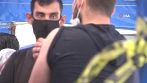 Gaziantep'te vakaların yüzde 70'i aşısız