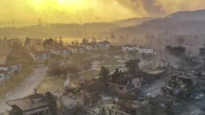 Kandilli Rasathanesi Meteoroloji Laboratuvarı Başkanı: 'Yangın Bölgelerinde Yağış Gözükmüyor'