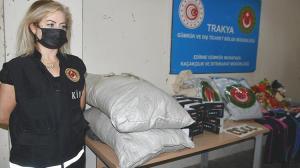 Kapıkule'de 12 kilo uyuşturucu ile 5 kilo külçe altın ele geçirildi