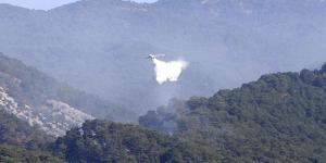 Kaz Dağları'ndaki Yangın Kontrol Altına Alındı