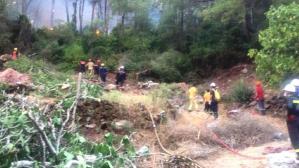 Marmaris'te orman yangını 4 mahallede kısmen kontrol altında