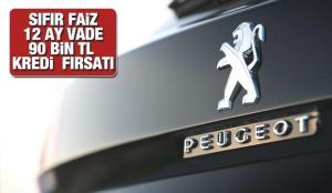 Peugeot'dan sıfır faiz 12 ay taksit ile 90 bin TL kredi fırsatı! 2021 model Peugeot fiyat listesi