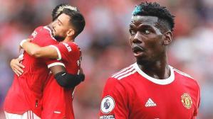 Son dakika haberi: Paul Pogba'dan tarihe geçen performans! Bruno Fernandes ile Leeds United'ı dağıttılar
