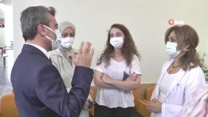 Son dakika! Sağlık Müdürü açıkladı: Son 4 ayda 2 doz aşısını olan kimse hastaneye yatmadı