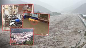 Son dakika… Sel bölgelerinden korkunç görüntüler! Sular 4 metreye ulaştı