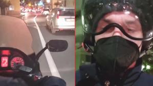 Trafikte sıkışıp kalan Ibrahimovic, çözümü bir yabancının motosikletine binmekte buldu! O anlara beğeni yağıyor