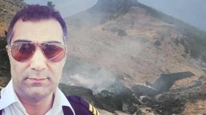 Uçak kazasında hayatını kaybeden pilotun evinde hüzün