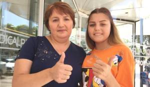 19 yaşındaki Ukraynalı genç kız Antalya'da böbrek nakli oldu