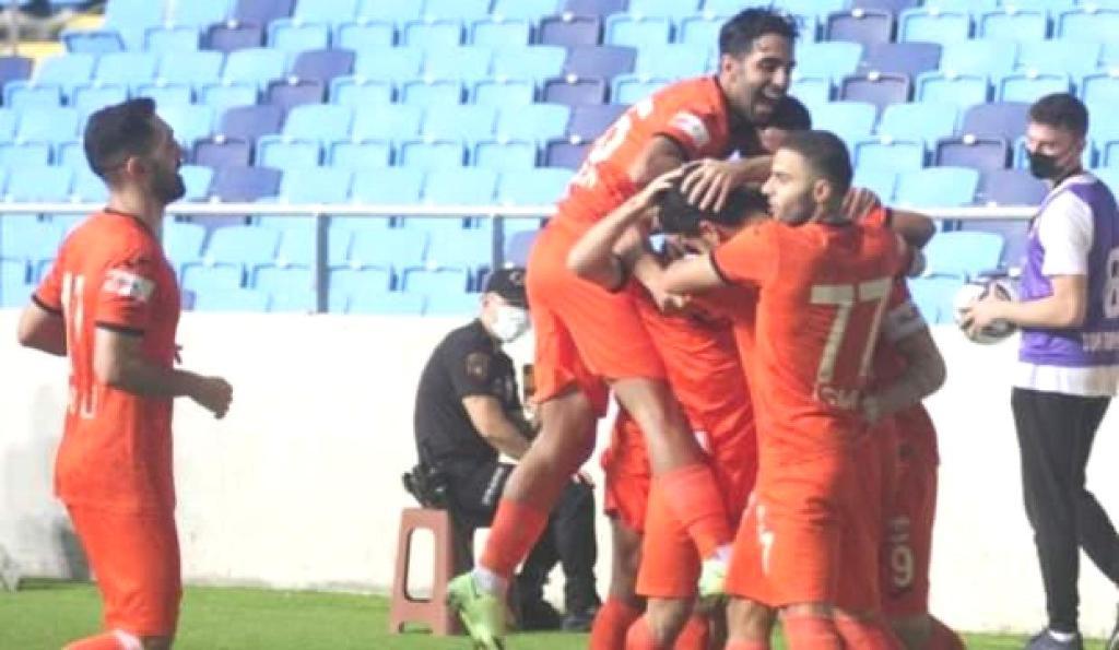 Adanaspor'dan Menemenspor'a gol oldu yağdı!