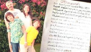 Annesini kaybeden Eymen'in okulda yazdığı satırlar yürekleri dağladı