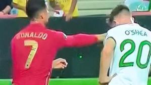 Cristiano Ronaldo rakibine Osmanlı tokadı attı, hakem oralı bile olmadı