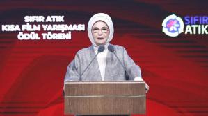 Emine Erdoğan: Sıfır Atık Projesi'ni hepimizin seferberlik ruhuyla sahiplenmesi gerekiyor