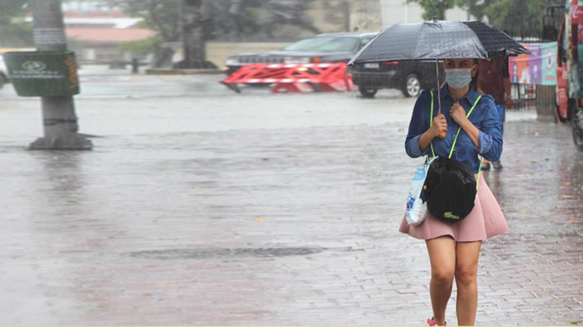 """Evden çıkacaklar dikkat! Meteoroloji sabah saatlerinde başlayacak şiddetli sağanak için """"sel"""" uyarısı yaptı"""