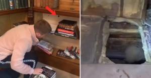 Evinin eski fotoğraflarına bakarken fark etti! Meraklı gencin keşfi tüyler ürpertti