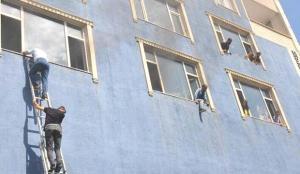 Muş'ta 6 katlı binada can pazarı! 15 kişi hastaneye kaldırıldı