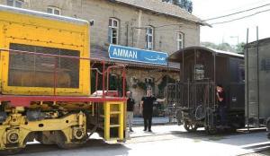 Osmanlı yadigarı Hicaz Demir Yolu'nun Ürdün hattı, 113 yıldır hizmet vermeyi sürdürüyor