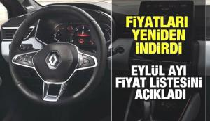Renault'tan Eylül ayına özel 10 bin TL indirim! 2021 Megane, Taliant, Clio, fiyatları