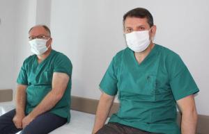 Sivas'ta, Vali ve Başkan'dan vatandaşlara aşı çağrısı