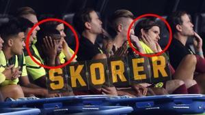 Son dakika – Dortmund'da futbolcular, Beşiktaş taraftarlarına direnemedi! Kulaklarını tıkadı