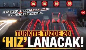 Türkiye yüzde 20 hızlanacak! Avusturya'da cezalar 2 katına çıktı