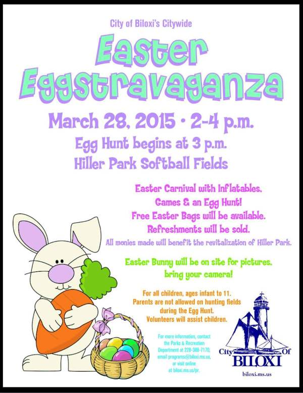 Hiller Park to host Easter egg hunt Saturday