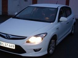Billede af Hyundai i30 som er søstermodel til Kia Ceed