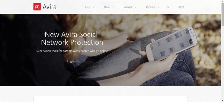 Avira social network protector