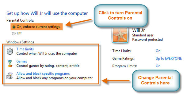 Managing User Accounts and Parental Controls on Windows PC