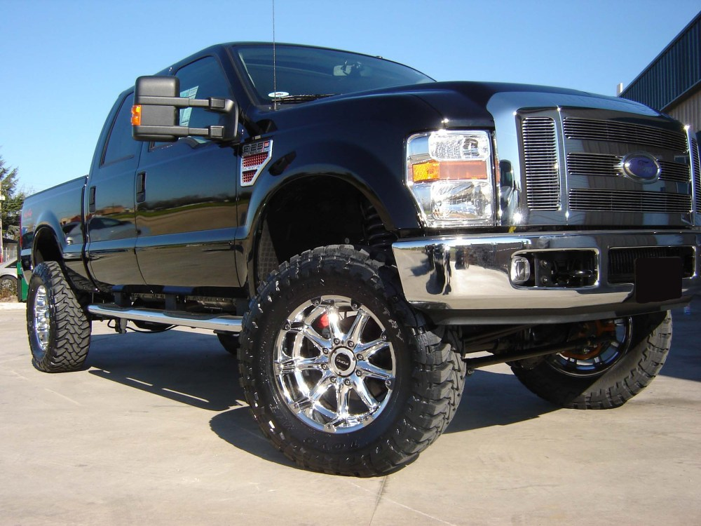 medium resolution of revtek 6 lift kit system with brackets on a 2008 2010 ford f250
