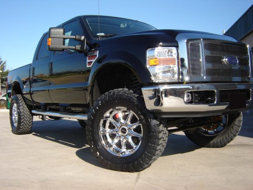 small resolution of revtek 6 lift kit system with brackets on a 2008 2010 ford f250