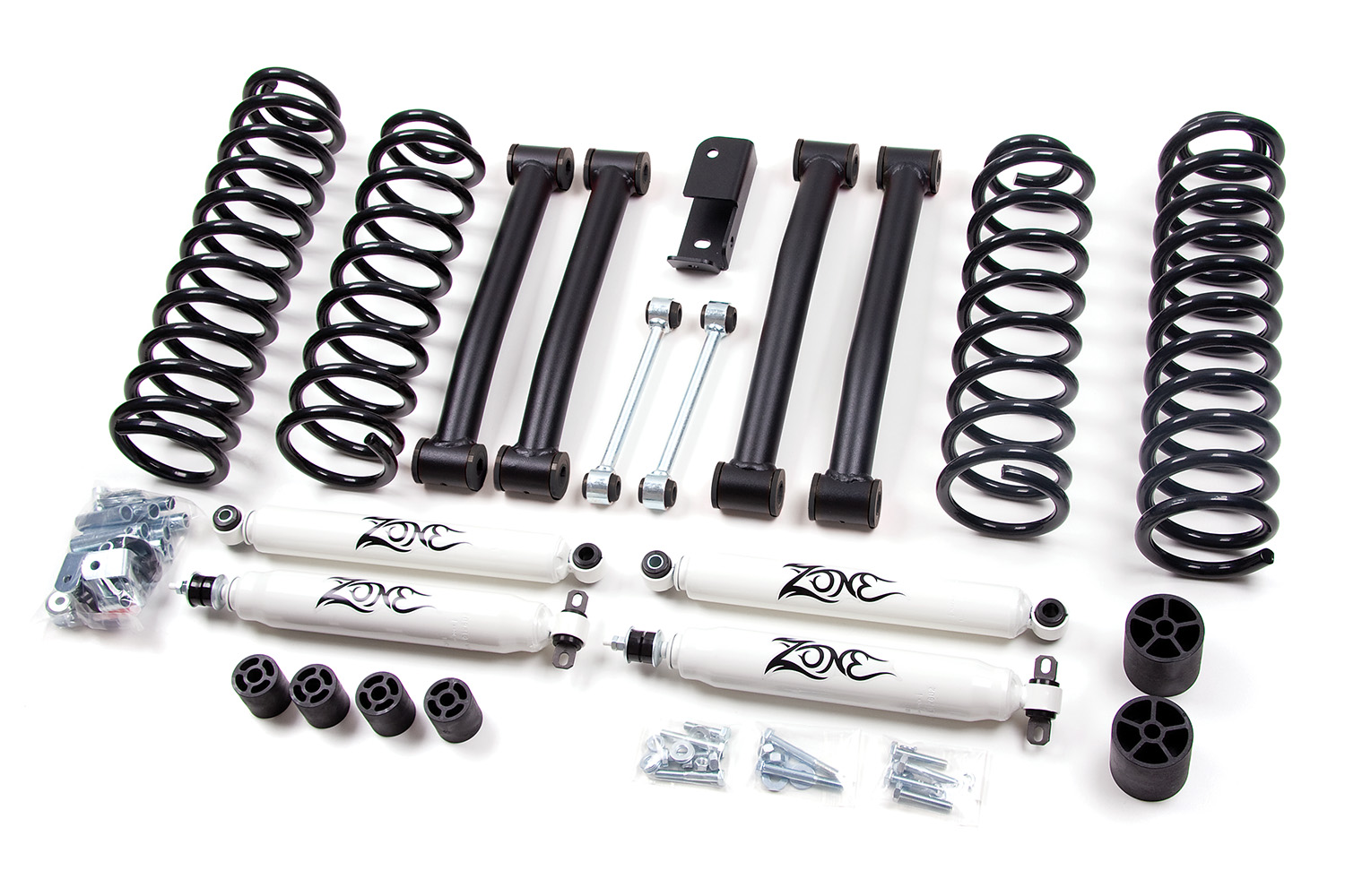 Zone Offroad 4 Coil Springs Lift Kit Jeep Grand